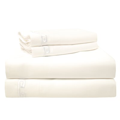 Premium 600 Thread Count Egyptian Quality Cotton Sheet Set Color: White, Size: Queen