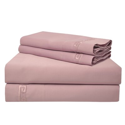 Premium 600 Thread Count Egyptian Quality Cotton Sheet Set Size: King, Color: Lavender