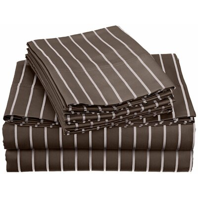 Bahama 600 Thread Count Sheet Set Color: Grey, Size: Twin
