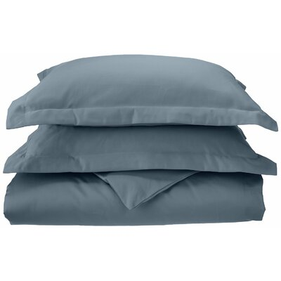3 Piece Reversible Duvet Set Size: Full / Queen, Color: Medium Blue C1000FQDC SLMB