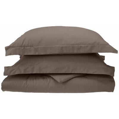 Reversible Duvet Cover Set Size: Full / Queen, Color: Grey