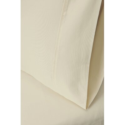 Cotton Rich 1200 Thread Count Pillow Case Size: King, Color: Ivory
