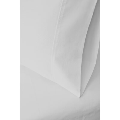 Cotton Rich 1200 Thread Count Pillow Case Color: White, Size: Standard