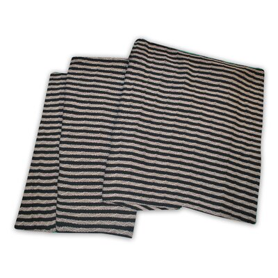 Dores All-Season Cotton Blanket Color: Black / Grey, Size: King