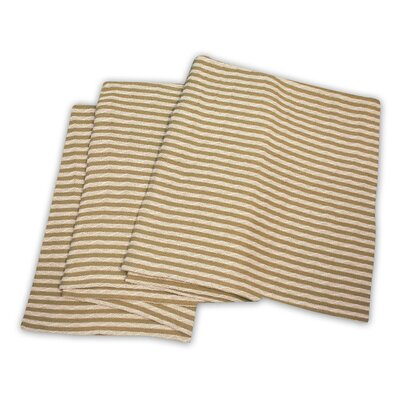 Dores All-Season Cotton Blanket Color: Ivory / Taupe, Size: Twin / Twin XL