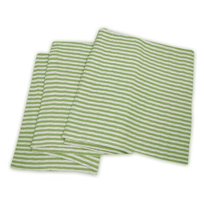Chamber All-Season Cotton Blanket Size: Full / Queen, Color: White / Sage
