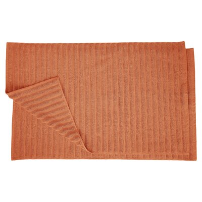 Charo Lined Bath Rug Set Color: Copper
