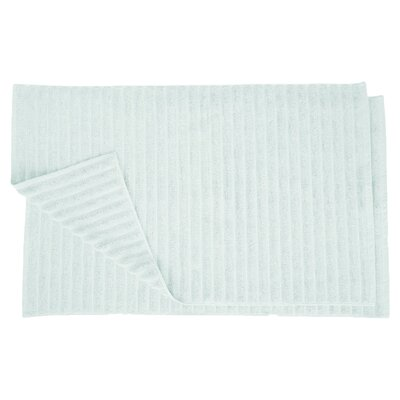 Charo Lined Bath Rug Set Color: Aqua Marine
