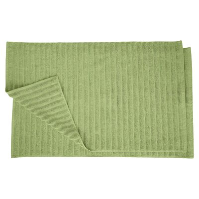 Bloomingdale Lined Bath Rug Set Color: Terrace Green
