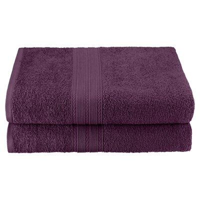 Bath Sheet Color: Eggplant