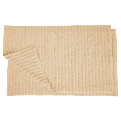 Charo Lined Bath Rug Set Color: Camel