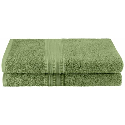 Ankara Bath Towel Color: Terrace Green