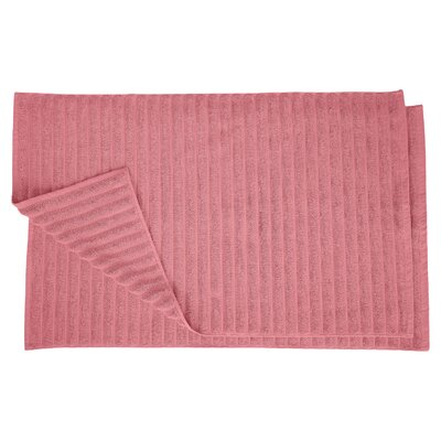 Charo Lined Bath Rug Set Color: Rosewood