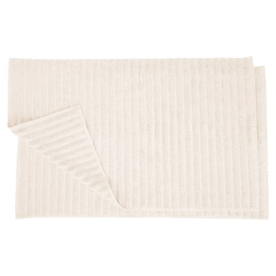 Charo Lined Bath Rug Set Color: Ivory