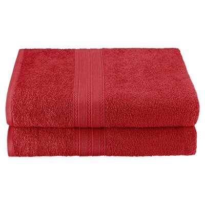 Bath Sheet Color: Cranberry