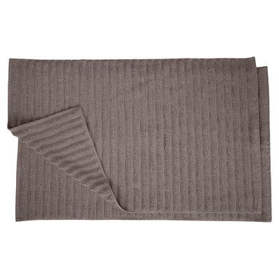 Charo Lined Bath Rug Set Color: Graphite