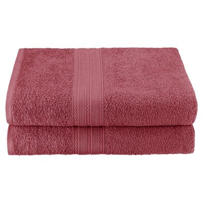 Bath Sheet Color: Rosewood