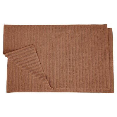 Charo Lined Bath Rug Set Color: Brown