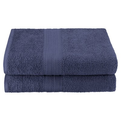 Bath Sheet Color: Navy Blue