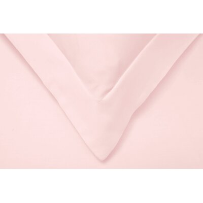 Reversible Duvet Cover Set Color: Pink, Size: Twin