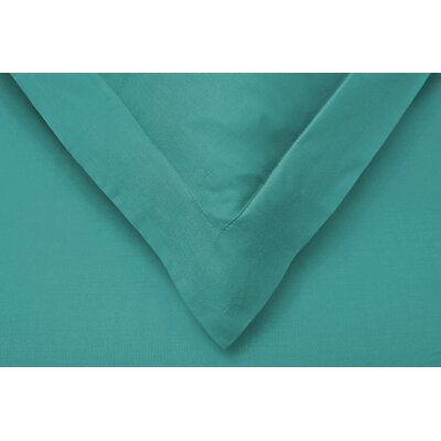 Reversible Duvet Cover Set Color: Teal, Size: King/California King