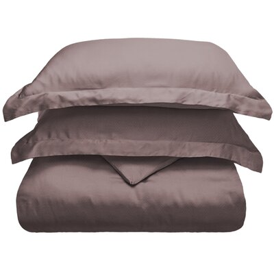 3 Piece Duvet Cover Set Size: Full/Queen, Color: Gray