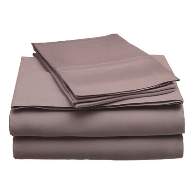 300 Thread Count Modal Solid Sheet Set Size: Queen, Color: Gray