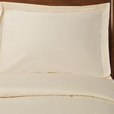 Reversible Duvet Cover Set Size: Full / Queen, Color: Ivory