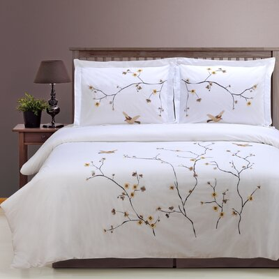 Impressions 3 Piece Duvet Cover Set Size: Full/Queen