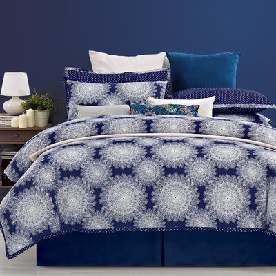 Casey 3 Piece Reversible Duvet Cover Set Size: King / California King