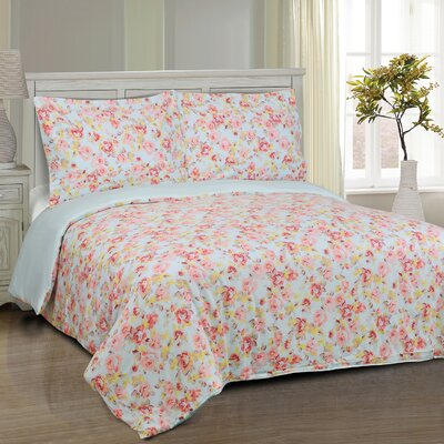 Apolonio Reversible Duvet Cover Set Size: Twin/Twin XL