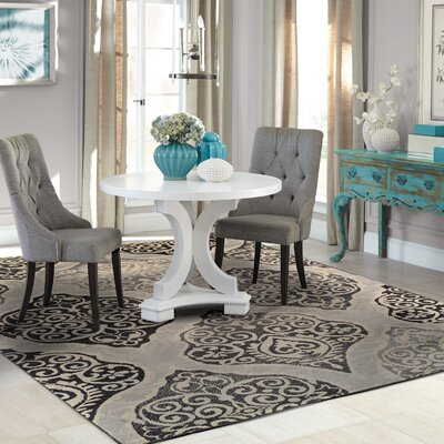 Amherst Gray Area Rug Rug Size: 710 x 910