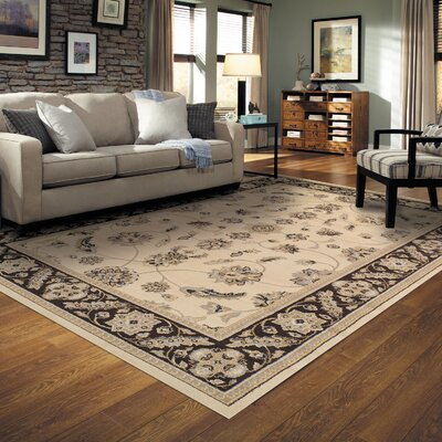 Cambridge Cream Area Rug Rug Size: 5 x 8