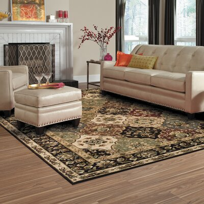 Battershell Brown/Beige Area Rug Rug Size: Rectangle 2 x 3