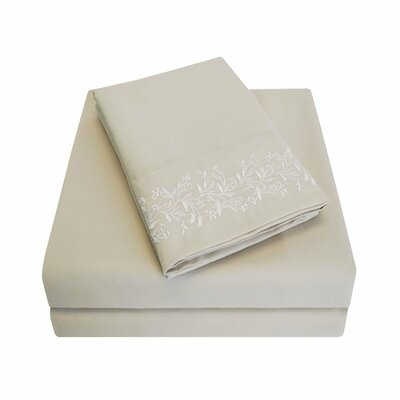 Garrick Sheet Set Color: Tan