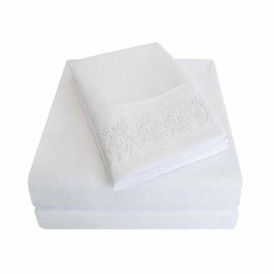Garrick Sheet Set Color: White