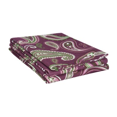 Mays Pillowcase Size: King, Color: Purple