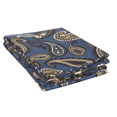 Pillowcase Size: King, Color: Navy