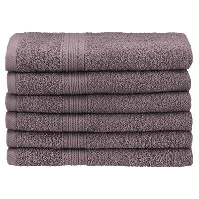 Ankara Hand Towel Color: Graphite