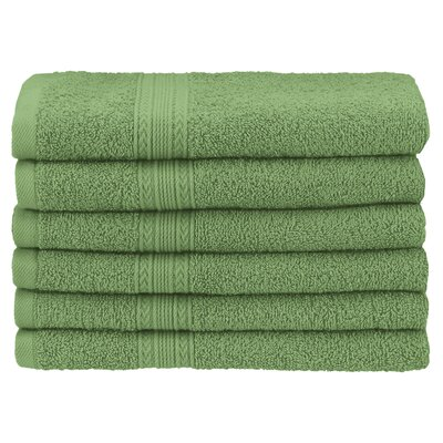 Ankara Hand Towel Color: Terrace Green