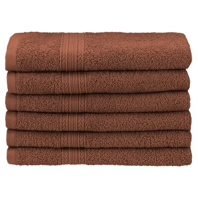 Ankara Hand Towel Color: Brown