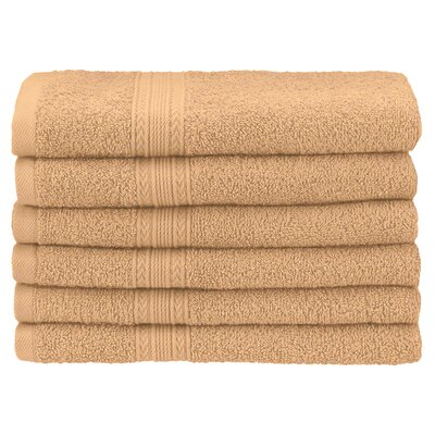 Ankara Hand Towel Set Color: Camel