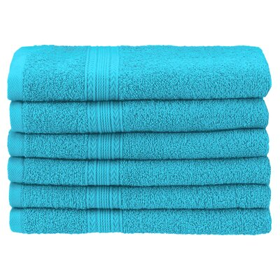 Ankara Hand Towel Set Color: Turquoise