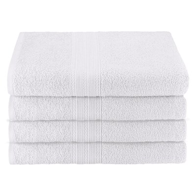 Ankara Bath Towel Color: White
