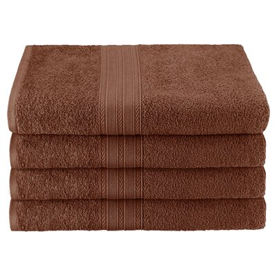 Ankara Bath Towel Color: Brown