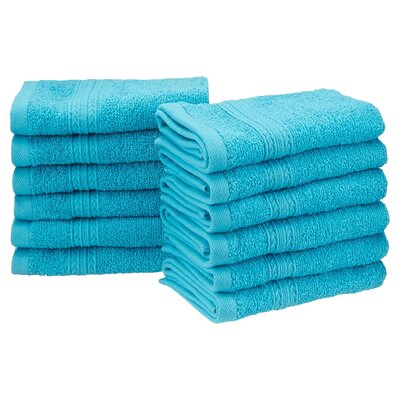 Springfield Washcloth Color: Turquoise