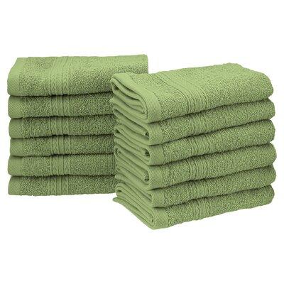 Ankara Washcloth Set Color: Terrace Green