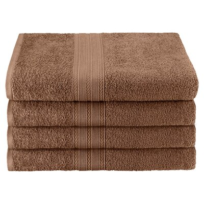 Superior Bath Towel Color: Coffee