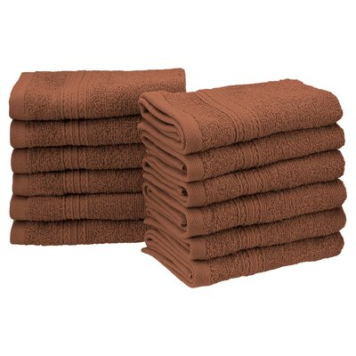 Ankara Washcloth Color: Brown