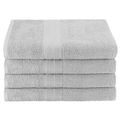 Ankara Bath Towel Color: Silver
